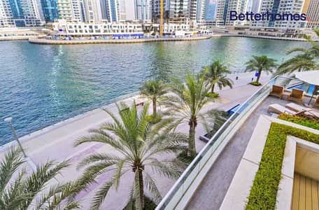 1 Bedroom Apartment for Sale in Dubai Marina, Dubai - Furnished | Tenanted | Partial Water View