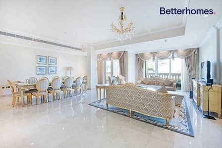 4 Bedroom Townhouse for Sale in Palm Jumeirah, Dubai - Sea View I Private beach access I Garden