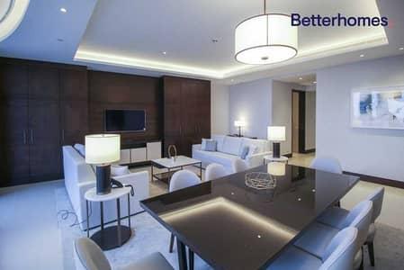 شقة فندقية 3 غرف نوم للايجار في وسط مدينة دبي، دبي - Vacant I All Inclusive | Negotiable I Furnished