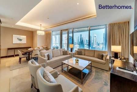 شقة فندقية 3 غرف نوم للايجار في وسط مدينة دبي، دبي - 04 Series | Large Bedrooms | Full Burj View