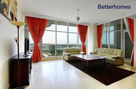 فلیٹ 2 غرفة نوم للبيع في دبي مارينا، دبي - Exclusive Study Partial Sea Terrace Furnished