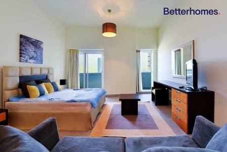 استوديو  للبيع في مدينة دبي الرياضية، دبي - Tenanted|MidFloor|Fully Furnished|Balcony|Spacious