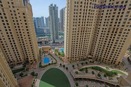فلیٹ 2 غرفة نوم للبيع في جميرا بيتش ريزيدنس، دبي - Fully Upgraded   Marina View   Vacant