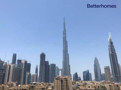 2 Bedroom Hotel Apartment for Sale in Downtown Dubai, Dubai - Burj Khalifa View   Furnished and Vacant