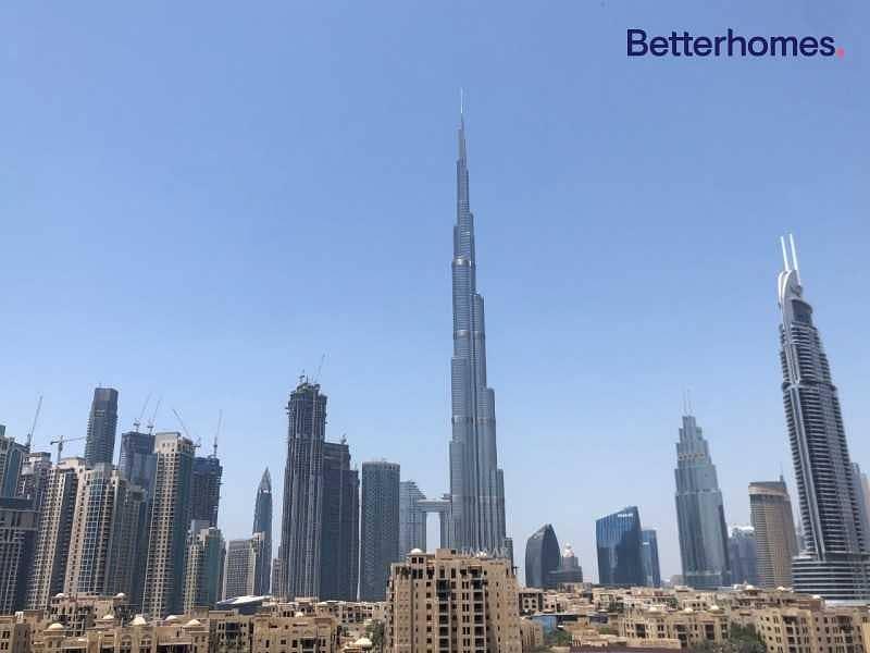 Burj Khalifa View | Furnished and Vacant