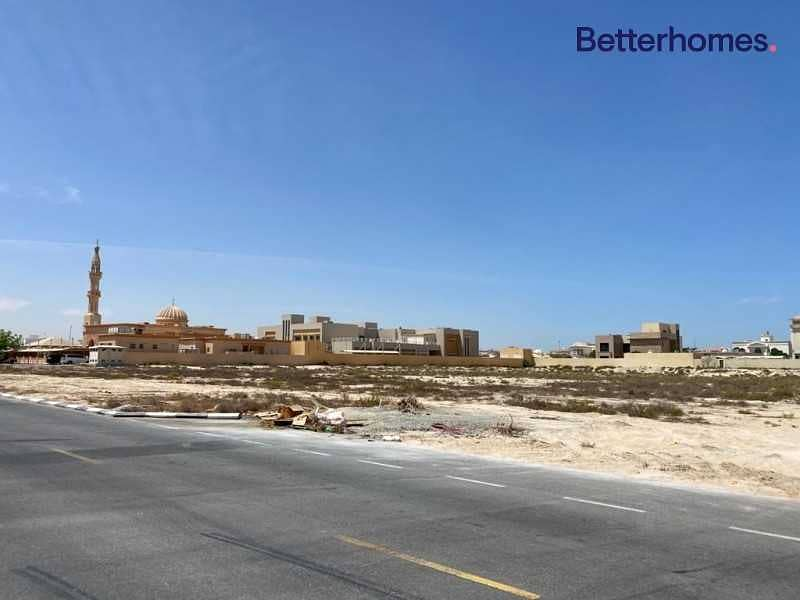 Land in a prime location in Muhaisnah 1
