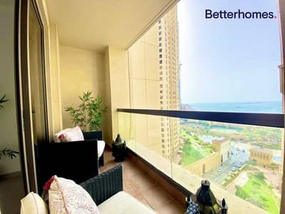 1 Bedroom Flat for Sale in Jumeirah Beach Residence (JBR), Dubai - Rare One Bedroom With Sea View  Vacant  High ROI