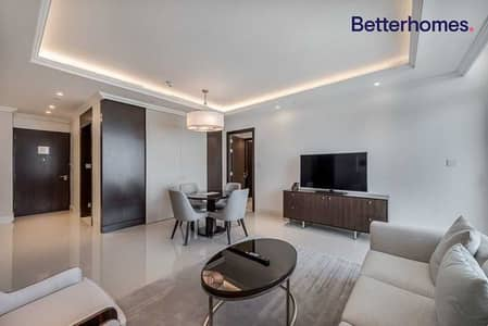 2 Bedroom Hotel Apartment for Rent in Downtown Dubai, Dubai - Full Burj Khalifa View | 2 beds+ Study High-End Furnished & All bills includ
