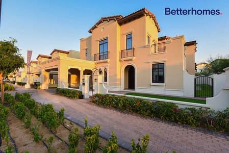 5 Bedroom Villa for Sale in Arabian Ranches 2, Dubai - Type 4 | Rented | Single Row | Corner | Park View