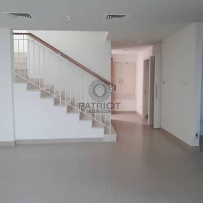 تاون هاوس 3 غرف نوم للبيع في دبي هيلز استيت، دبي - Genuine Listing | Type 2E | 4 BR End Unit | On Green Belt