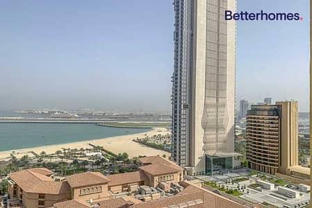 استوديو  للايجار في جميرا بيتش ريزيدنس، دبي - Ocean View  Unfurnished   Large Layout
