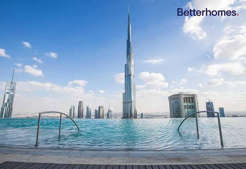 10 Great offer | Full Burj Khalifa view | High floor