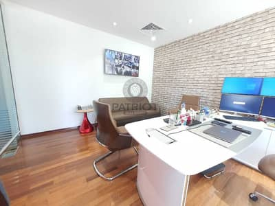 Office for Sale in Jumeirah Lake Towers (JLT), Dubai - Spacious Office | Fitted Office | Fortune Tower | Marina View