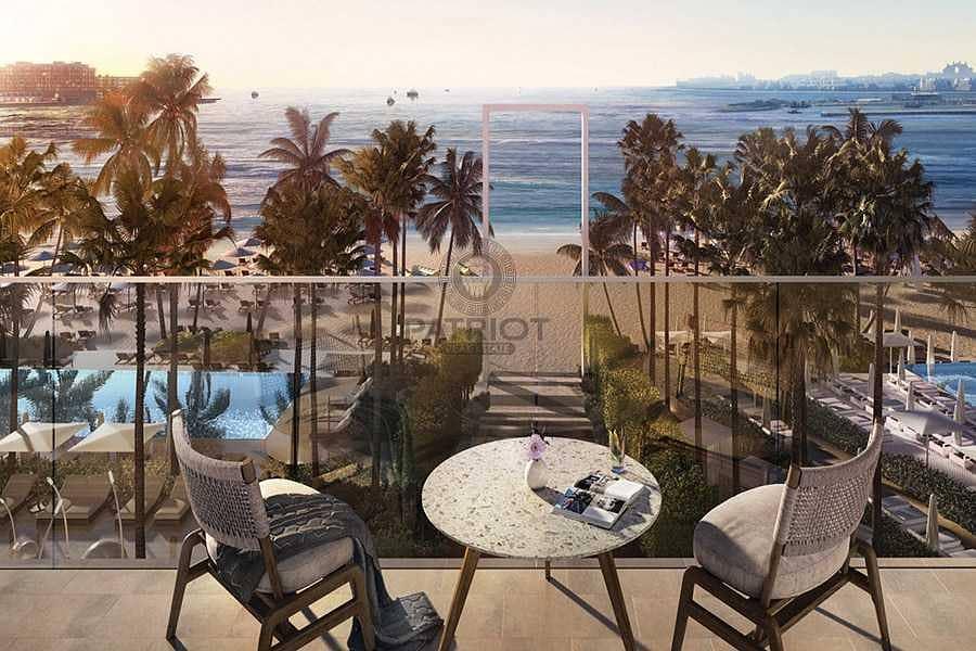 2 bedroom + Maid La Vie Best View In JBR Private Beach Access||
