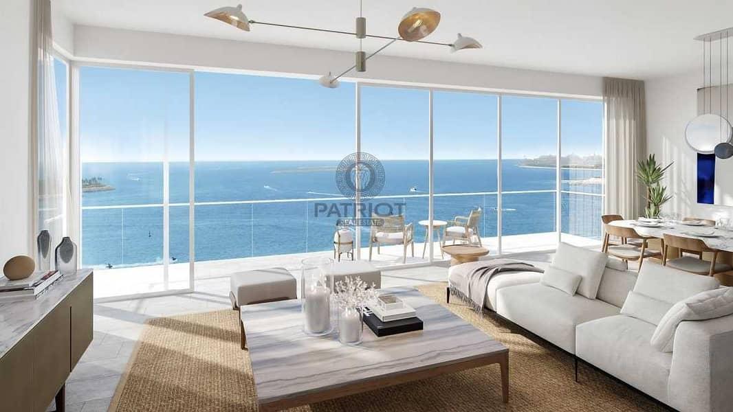 2 2 bedroom + Maid La Vie Best View In JBR Private Beach Access||