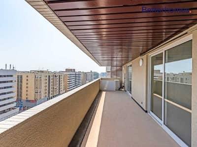 فلیٹ 3 غرف نوم للايجار في ديرة، دبي - Corner Bright & Spacious Unit I Creek View