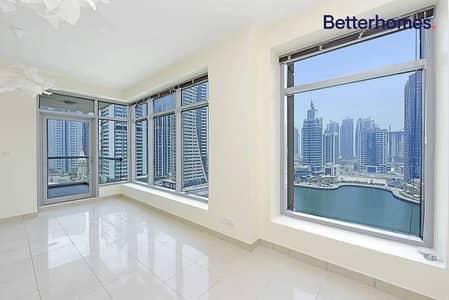 شقة 2 غرفة نوم للايجار في دبي مارينا، دبي - Full Marina View | Vacant| Emaar building