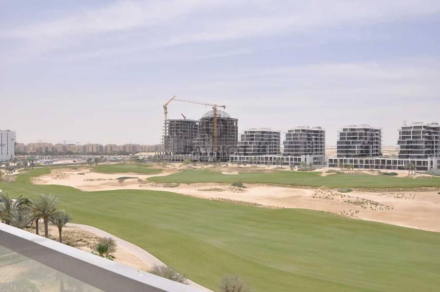 2 BEDROOM APARTMENT WITH FULL POOL AND GOLF VIEW IN DAMAC HILLS GOLF VISTA  B (RENTED)
