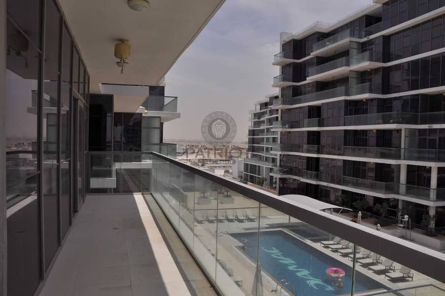 2 2 BEDROOM APARTMENT WITH FULL POOL AND GOLF VIEW IN DAMAC HILLS GOLF VISTA  B (RENTED)