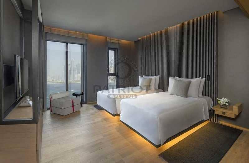 2 Full sea view unique unit | 4 bed + maids room |