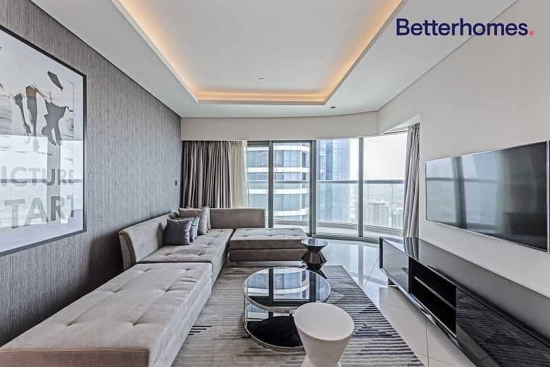 2 Managed   Luxuriously Furnished   On High Floor