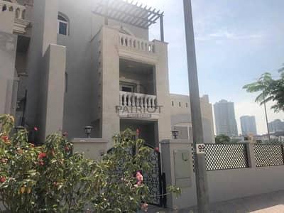 تاون هاوس 5 غرف نوم للبيع في قرية جميرا الدائرية، دبي - CORNER UNIT l 5BED + MAID l VERY SPACIOUS