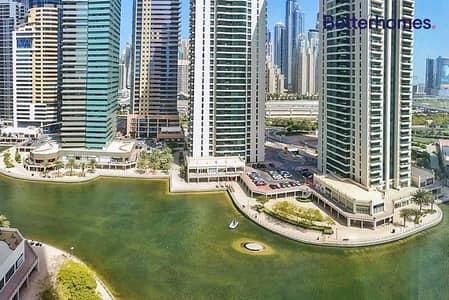 فلیٹ 1 غرفة نوم للبيع في أبراج بحيرات الجميرا، دبي - Rented till January 2022| Lake View| 1.5 Bathrooms