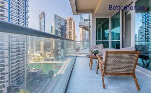 2 Bedroom Apartment for Sale in Dubai Marina, Dubai - Vacant on Transfer   Marina Views   Furnished