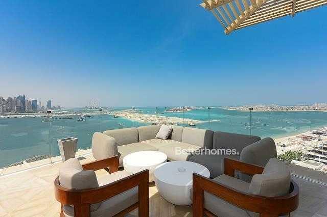Panoramic Sea and Marina Skyline Views