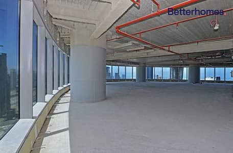 Floor for Sale in Al Reem Island, Abu Dhabi - Vacant| Sea View | Full Floor | Shell And Core