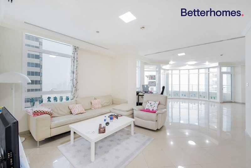 Sea View  High Floor  Unfurnished  Vacant  +Maid's