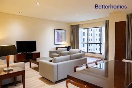 2 Bedroom Hotel Apartment for Rent in Jumeirah Beach Residence (JBR), Dubai - pets friendly/ fully serviced/ beach access
