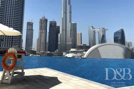 2 Bedroom Flat for Sale in Downtown Dubai, Dubai - Resale | High Floor | Burj & Fountain View