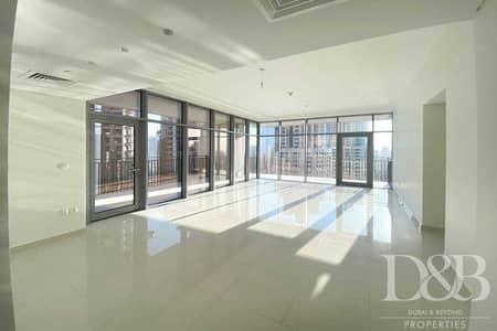 فلیٹ 3 غرف نوم للايجار في وسط مدينة دبي، دبي - Burj Khalifa View | Balcony | Bright 3BR