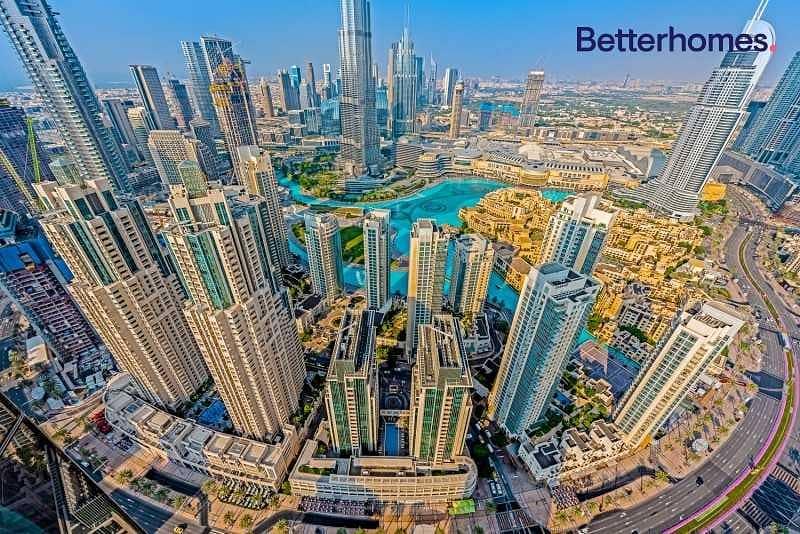 17 Penthouse Burj Khalifa and Fountain Views