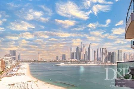 3 Bedroom Apartment for Rent in Palm Jumeirah, Dubai - Refurbished | Custom Design | Full Sea View