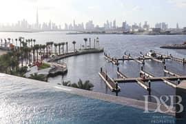 شقة في مساكن خور دبي 2 جنوب مرسى خور دبي ذا لاجونز 3 غرف 143000 درهم - 5224940