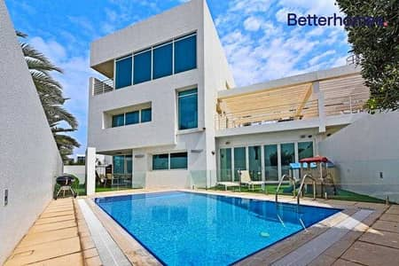 4 Bedroom Townhouse for Sale in Al Sufouh, Dubai - Fully Upgraded | Tenanted | Open View | Luxurious