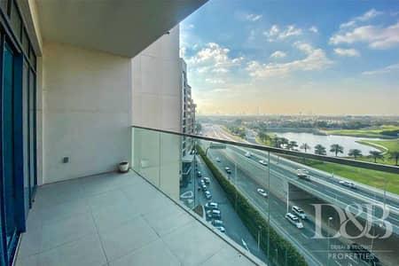 شقة 2 غرفة نوم للايجار في التلال، دبي - Lake View | Chiller Free | Pet Friendly Area
