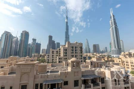 2 Bedroom Flat for Rent in Old Town, Dubai - Burj Khalifa View   Furnished   Vacant
