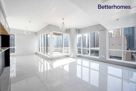 شقة 3 غرف نوم للايجار في دبي مارينا، دبي - Fully Upgraded | Full Marina View | Chiller Free