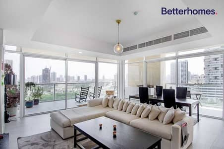 3 Bedroom Apartment for Sale in Jumeirah Village Circle (JVC), Dubai - Furnished   180 Degree View   2 Parkings