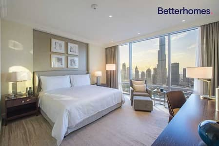 2 Bedroom Hotel Apartment for Rent in Downtown Dubai, Dubai - Biggest layout with Study |Available now|