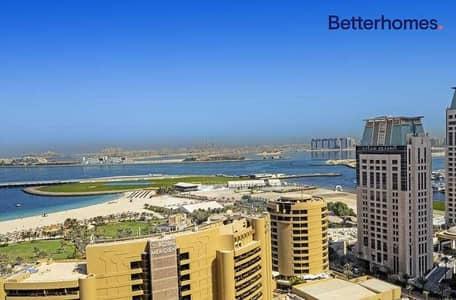 1 Bedroom Apartment for Rent in Dubai Marina, Dubai - Sea View & Marina View| Plus Study | Plus Storage