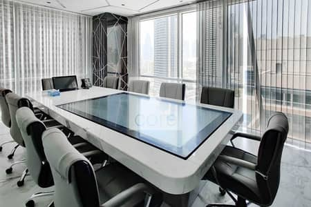 Office for Rent in Business Bay, Dubai - Fitted and Furnished Office   Mid Floor