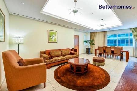 شقة فندقية 2 غرفة نوم للايجار في دبي مارينا، دبي - Fully Furnished| Non Serviced | Serviced Available