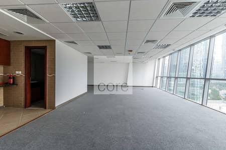 مکتب  للايجار في أبراج بحيرات الجميرا، دبي - Fitted Office   Low Floor   Parking   DMCC