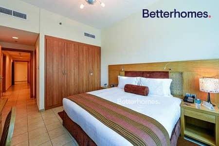 شقة فندقية 2 غرفة نوم للايجار في دبي مارينا، دبي - Fully Furnished |SZR View |Serviced |Good Location