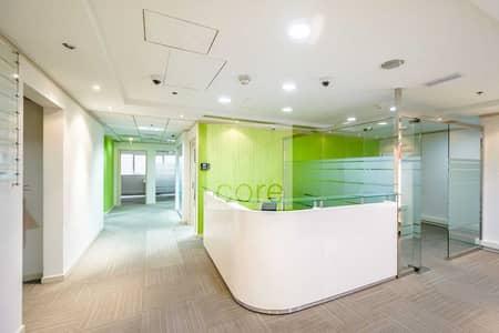 مکتب  للايجار في شارع الشيخ زايد، دبي - Vacant | Fitted and Furnished Office