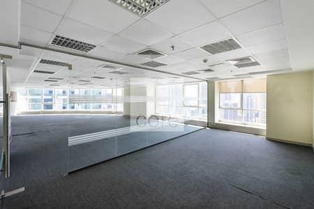 مکتب  للايجار في أبراج بحيرات الجميرا، دبي - Spacious Fitted unit| Mid Floor | Unfurnished